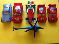 Mattel Disney Cars Lot Of 6! Played Condition!! See Pics!