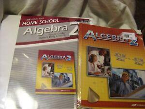 Details about 4 PC  ABEKA ALGEBRA 2- COMPLETE SET- HIGH SCHOOL MATH CLASS  STUDENT/TEACHER