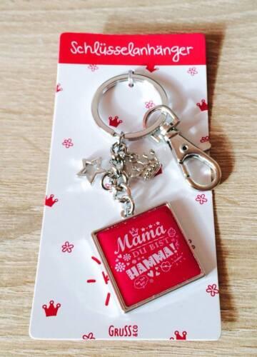 Sheepworld Gruss /& Co Schlüsselanhänger Mama Rockt ist Hamma Papa ist super!