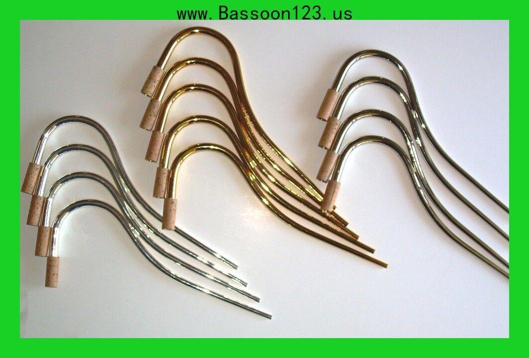 bassoon123  Calidad Plateado Fagot bocal   1. 1. 1. Nuevo   Venta barata