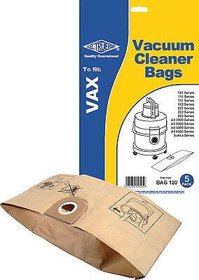 Electruepart Bag 120 5 Pack Vacuum Cleaner Bags To Fit Vax