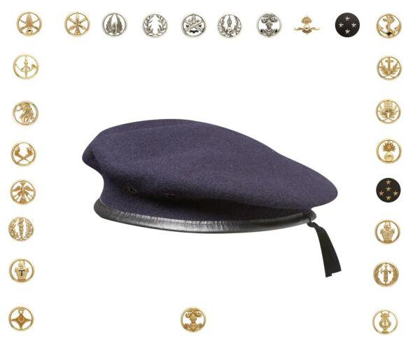 Veritable Beret Commandos Bleu Avec Insigne Reglementaire Armee De Terre Ls Lucentezza Luminosa