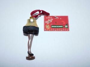 New with tag Hallmark A Christmas Story Glass Leg Lamp ...