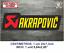 Sticker-Vinilo-Decal-Vinyl-Aufkleber-Adesivi-Autocollant-Akrapovic-SA-Exhaust miniatura 6