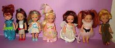 Barbie Kelly Doll Lot Swan Lake Rapunzel Sister Tommy Skunk Mouse Angel Princess