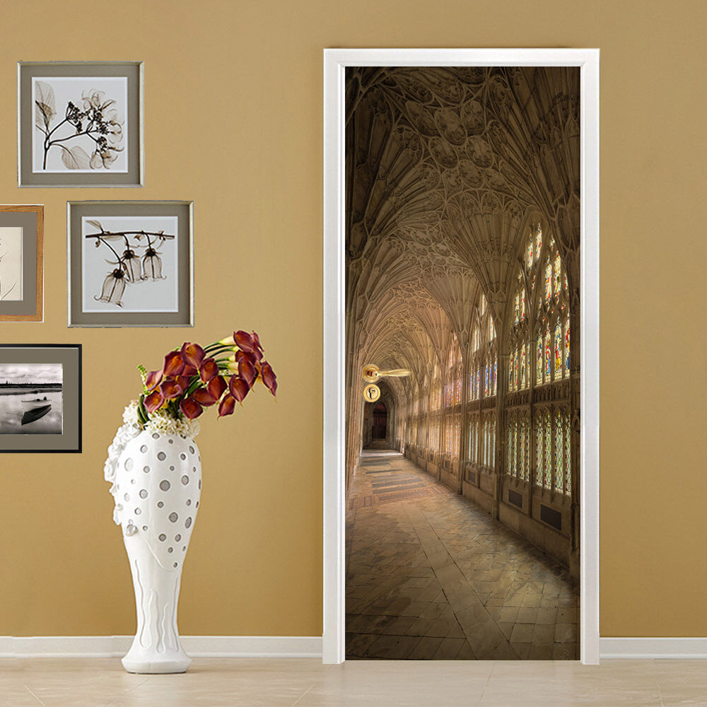 3D Korridor 707 Tür Wandmalerei Wandaufkleber Aufkleber AJ WALLPAPER DE Kyra | Exzellente Verarbeitung  | Spielzeug mit kindlichen Herzen herstellen  |