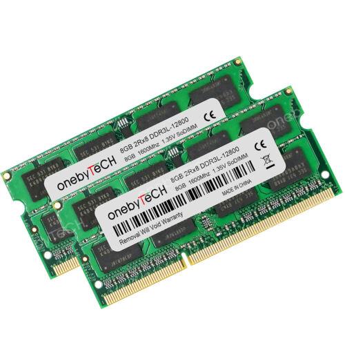 8GB 16GB PC3L-12800 DDR3 1600MHz 204pin SODIMM Memory Fr Dell Inspiron 15 5559