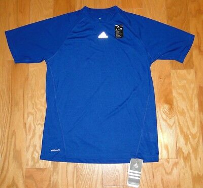Clothing, Shoes & Accessories Activewear Tops Rational Adidas Elite Tee 2 Climalite Athletic Shirt Top Nwt Size M Royal Blue Men's