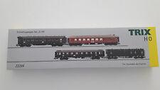 Trix H0 23394 Schnellzug D119 mit Beleuchtung