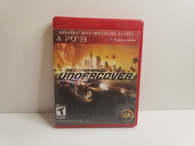 Need for Speed: Undercover PS3 (Sony PlayStation 3) Greatest Hits, Tested, Clean