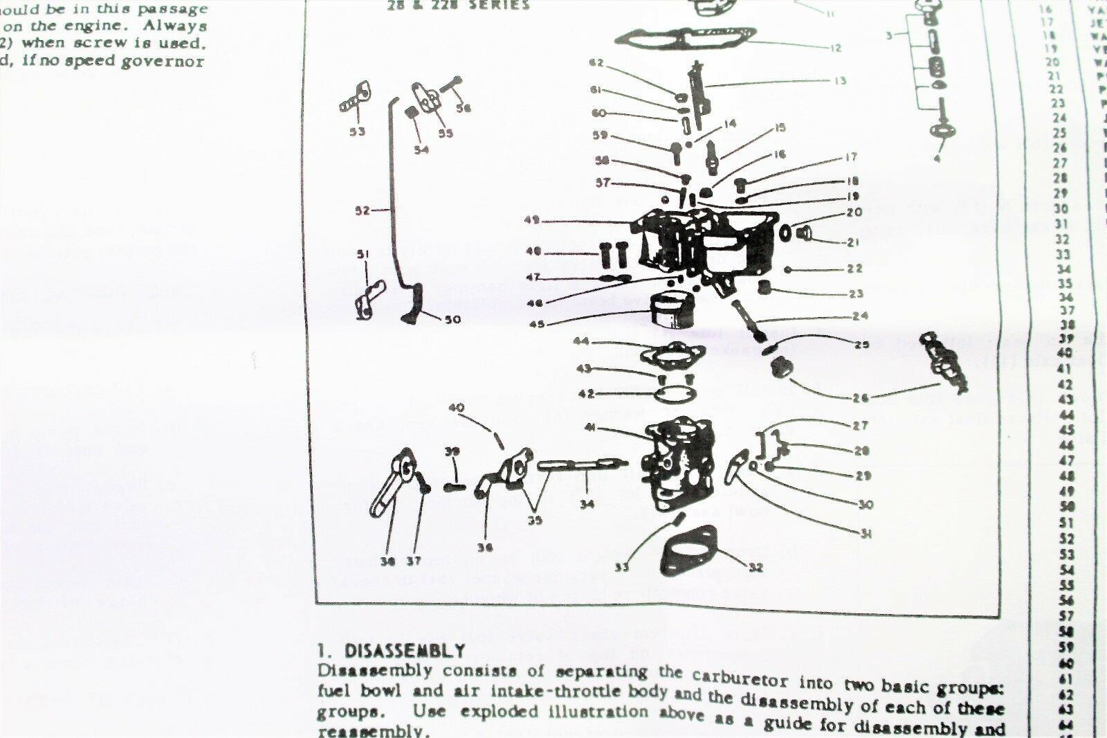 Carburetor Kit Fits Jeep Kaiser Willys 4fb L4 153 Engine Mutt 11719 Zenith Parts Diagram On Exploded Zc40 Ebay