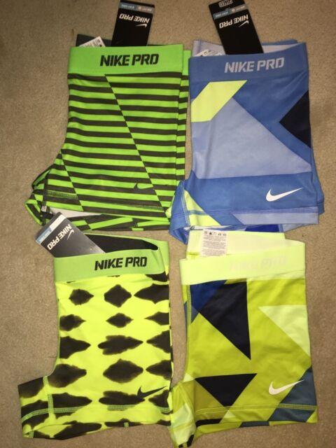 "Nike Pro 2.5"" Core Essentials Compression Shorts (1-Pair) Yoga Spandex"