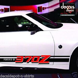 Rocker-Panel-Stripes-for-NISSAN-370Z-Coupe-2012-2013-2014-2015-2016-Old-or-New