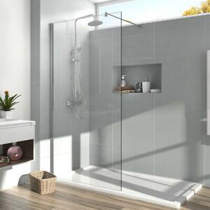 Details zu Duschabtrennung 90x200 Walk in Dusche Duschwand Duschkabine Nano  Glas Glaswand