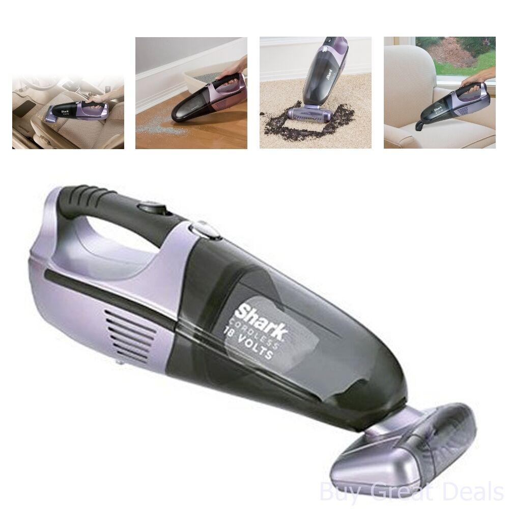 New Shark Handheld 18v Vacuum Cleaner Cordless Vac Dust Bagless Car Portable Pet