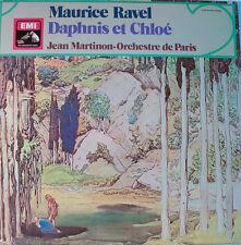"""MAURICE RAVEL - DAPHNIS ET CHLOÉ - JEAN MARTINON   12"""" LP (L150)"""