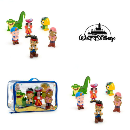 Disney Store Jake /& The Neverland Pirates 6 Figure Bath Set