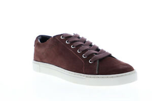 Frye-Sindy-Moto-Low-70792-Womens-Red-Suede-Low-Top-Lifestyle-Sneakers-Shoes