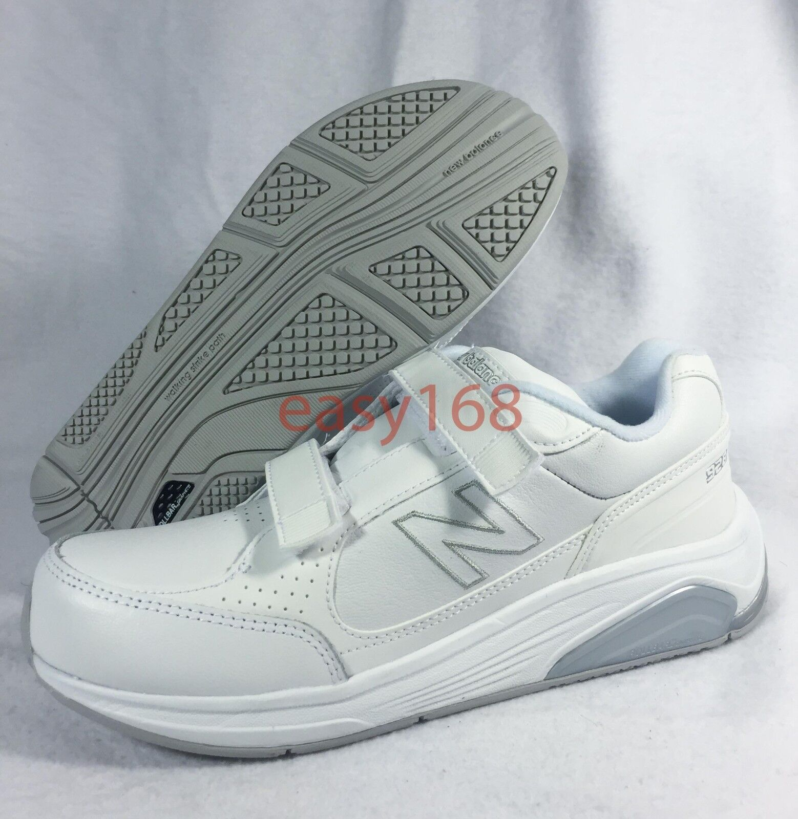 New New Balance 928 Sz 10.5 WMNS Walking Shoes WW928VW White 42.5 2A Hook loop