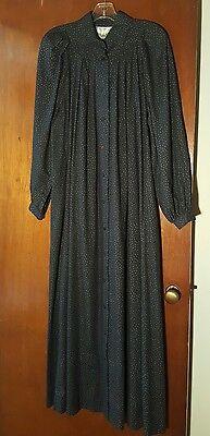 Vintage 1980s Marimekko Boho Smock Maxi Dress Made In Finland