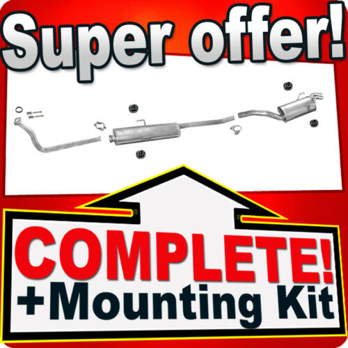 CITROEN JUMPY I 1.9 TD SWB-short+Front Pipe Exhaust System T77A
