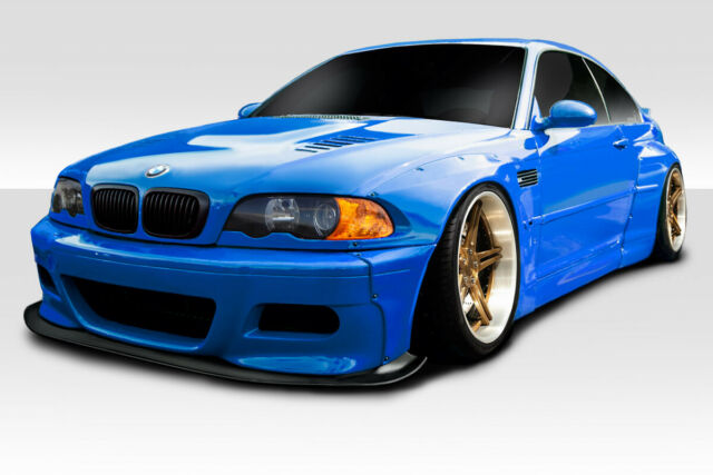 Duraflex E46 Circuit Wide Body Kit 6 Piece For M3 Bmw 01 06 Ed 113620