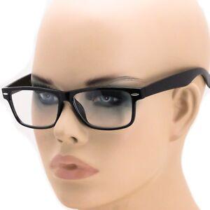 1c28b1077d2 Image is loading Smart-Black-Interview-Generic-nerd-Fashion-Rectangular -Clear-