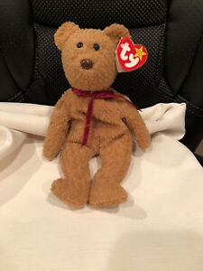 70a18bca525 CURLY TY Beanie Baby. Retired and Very Rare! Many errors (14 found ...