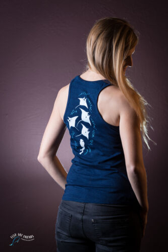 Fairtrade Xs Are Fish l FriendsDonkerblauwdenim Manta Tanktop Maat CdxBoer