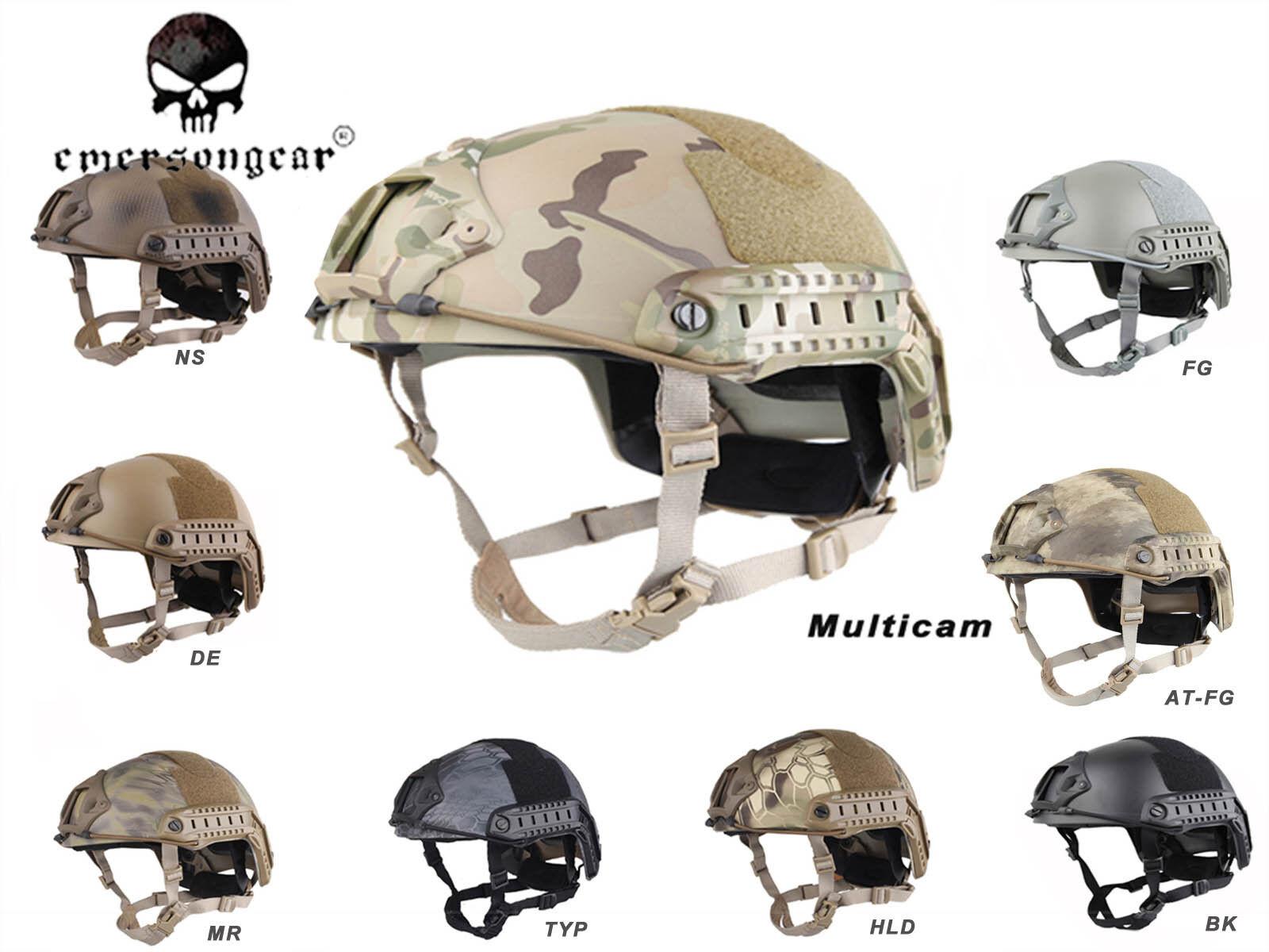 Emerson FAST Casco Casco Militar Paintball tipo MH casco de projoección