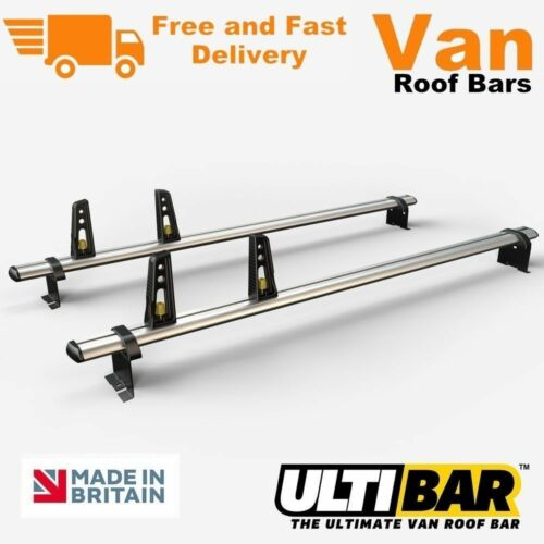 Ulti Bars 2 x Roof Bar Rack 2007 Up To July 2016 Citroen Dispatch Van VG248-2