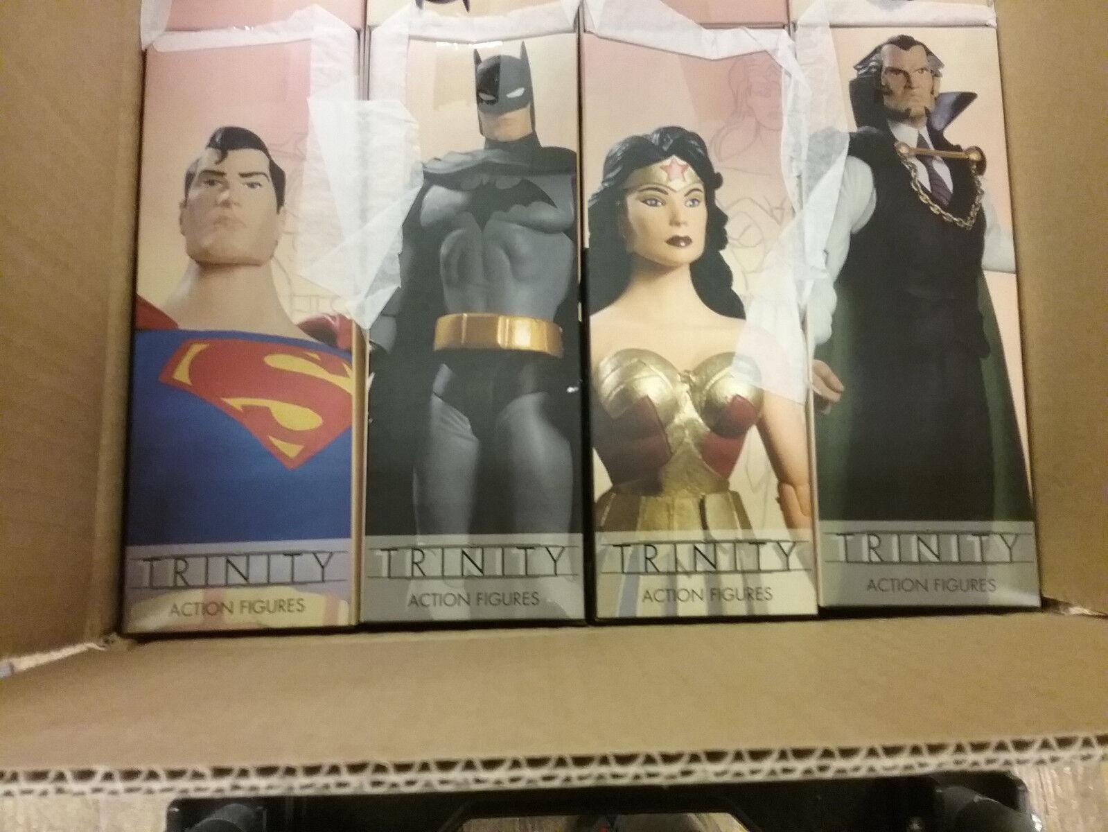 DC Direct Trinity Superuomo Batuomo Wonder donna Ra's Al Ghul cifras Set nuovo