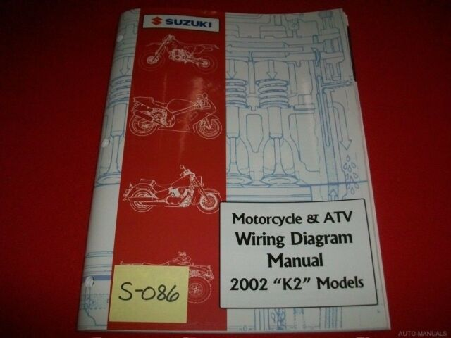 Suzuki Motorcycle  U0026 Atv Wiring Diagram Manual 2002  U0026quot K2
