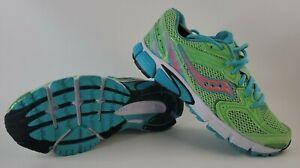 Saucony Grid Tornado 6 Women's Size 9 Neon Green/Pink/Blue #S515224-5 running