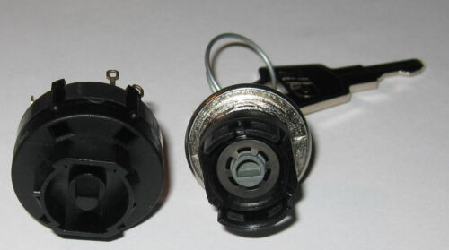 C/&K Rotary Keylock Switch 2.5 A 3 Position C and K Double Pole Switchlock