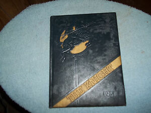 1951-COLLINGSWOOD-HIGH-SCHOOL-YEARBOOK-COLLINGSWOOD-NJ-MIKE-LANDON-SIS-IS-SENIOR