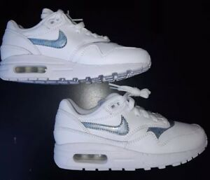 brand new 73f2e 08a7f ... Nike-Air-Max-1-GS-Femme-Filles-Taille-