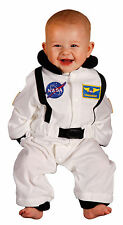NASA Jr Astronaut Space Suit White Infant Costume - 6 to 12 Months