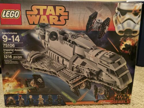 LEGO STAR WARS 75106 NEW Imperial Assault Carrier Sealed *Damage Box*