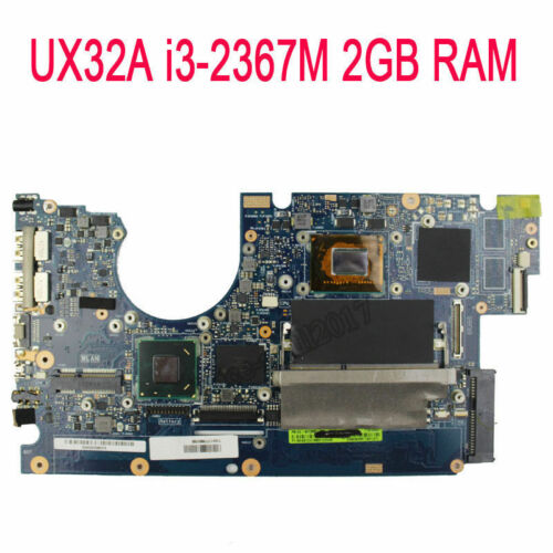 For Asus UX32A Motherboard i3-2367M CPU 60-NYOMB1100-C02 2GB Ram Mainboard