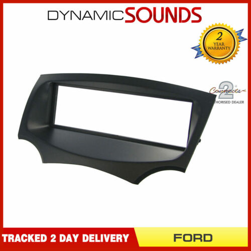 FP-07-16 Ford KA 2009 Onwards Black Fascia Facia Adapter Panel Surround Stereo