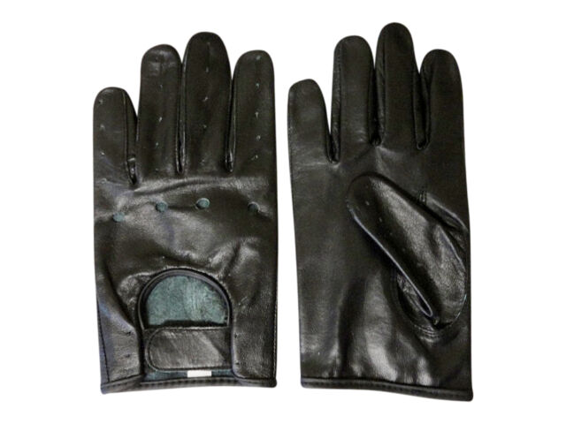MENS STRONG THICK BUFFALO LEATHER DRESSING DRIVING GLOVES UNLINED NEW #1011TBF
