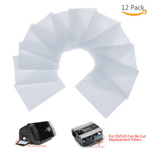 12Pcs-S9-S10-Cpap-Disposable-Universal-Replacement-Filters-For-Resmed-AirsensUE
