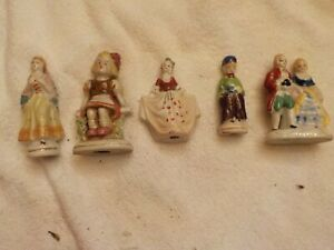 Lot Of 5 Assorted Made In Occupied Japan Figurines Ebay