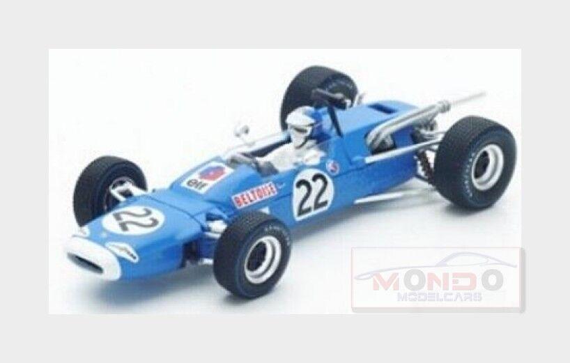 Matra F1  Ms7  22 Mexican Gp 1967 Jeans Pierre Beltoise blu SPARK 1:43 S4289