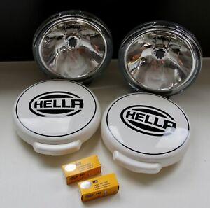 Hella-Fernscheinwerfer-Set-Comet-FF-500-Ref-17-5-12V-H3-Scheinwerfer-Kappen