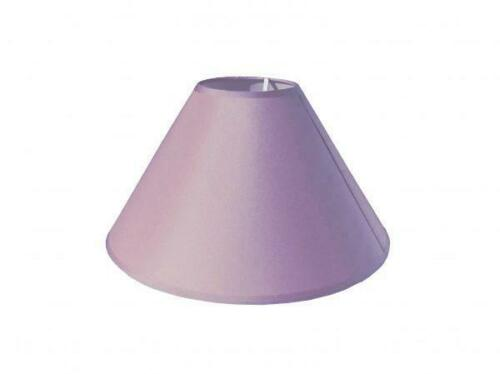 Cotton Fabric Coolie Light Shade Table or Ceiling Lampshade 3 Sizes 14 Colours