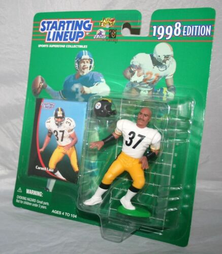 1998 Starting lineup Carnell Lake  Pittsburgh Steelers  still in package