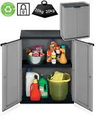 Plastic Garden Storage Cupboard. Outdoor or Sheds / Garages. Plastic Cabinet.