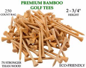 Tee-Golf-2-3-4-034-250-Count-2-75-034-Buy-Bulk-Wooden-Golf-Tees-Choose-Quantity-Stock
